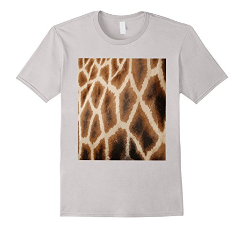 Giraffe Print T-Shirt Animal Fur Africa African Graphic Tee