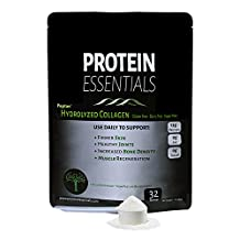 Protein Essentials Pasture Raised Grass Fed Collagen Peptides, Non GMO (16oz)