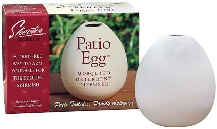 4OZ Patio Egg Diffuser (Pack of 6) by Scent Shop [並行輸入品]