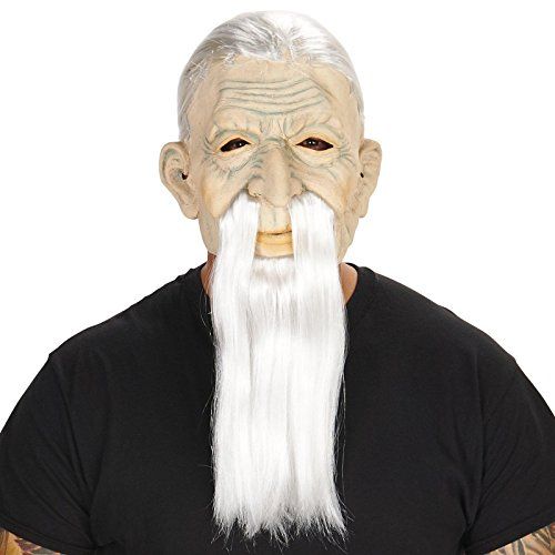 [Old Man Adult Mask,One Size] (Old Lady And Old Man Halloween Costumes)
