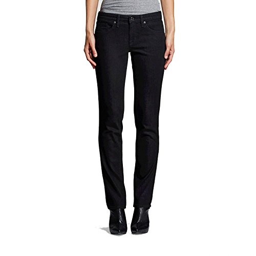 Mossimo Women's Mid-Rise Straight Leg Jeans (Modern Fit) Black (4/27R)