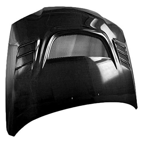 VIS Racing (VIS-JZZ-967) G Speed Style Hood Carbon Fiber - Compatible for Hyundai Elantra 2004-2006 (2004 2005 2006 | 04 05 06) (Vis G-speed Carbon Fiber Hood)