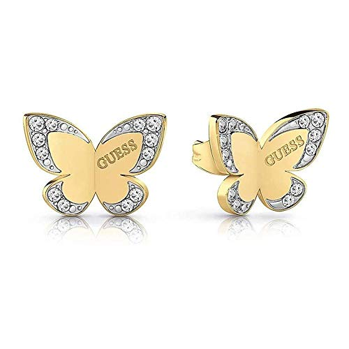 Pendientes Guess Love Butterfly acero inoxidable quirúrgico logo chapados oro UBE78011 [AC1127] a buen precio