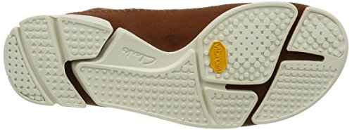 Clarks Trigenic Flex 121557, Scarpe Stringate uomo, nubuck marrone (dark tan) (42.5)