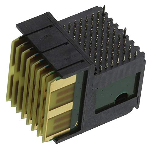 1.8 mm Through Hole 7 Rows Multigig RT2-R Series TE CONNECTIVITY Daughtercard 56 Contacts 2102772-1 Plug Connector