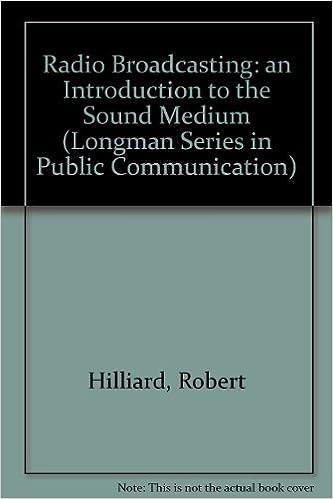 radio as a medium of communication