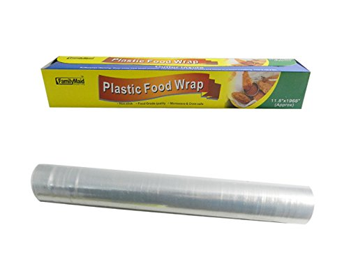 PLS FOOD WRAP 538 SQ FT W/ CU , Case of 96 by DollarItemDirect