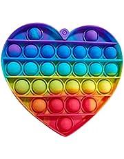 Pop It Fidget Toy Bubble Brinquedo Sensorial AMG Coração