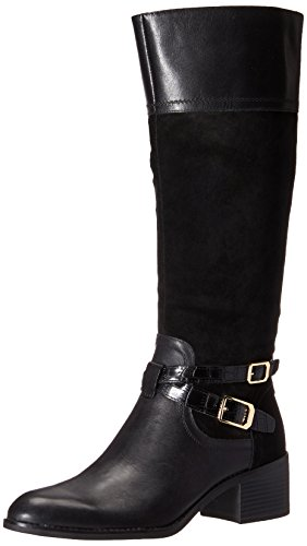 Franco Sarto Women's Lapis Western Boot Black