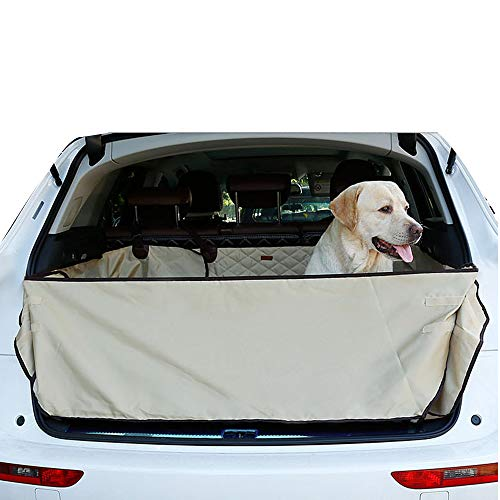 OTENGD Pet Quilted Cargo Trunk Mat Protector Durable Liner Covers Waterproof and Nonslip Universal Fit for Any Pet Animal and Protects Your Vehicle