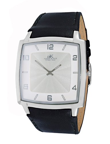 Watch Adee Kaye Men's Arc Collection Watch Swiss Quartz Mineral Crystal AK2221-MSV AK2221-MSV