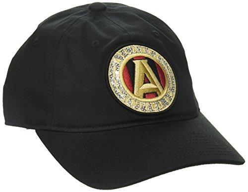 fan products of MLS Atlanta United FC Women's Adjustable Slouch Hat, One Size, Black