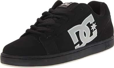DC Men's Serial Sneaker,Black/Wild Dove,8 M US