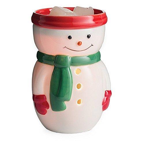 Candle Warmers Etc. Midsize Illumination Fragrance Warmer - Snowman (Snowman Wax)