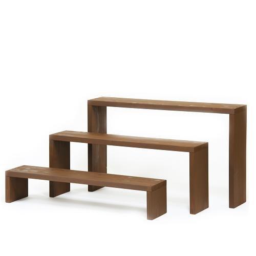 Welcome wood ウッドステージ90型 3段タイプ   色はCB カフェブラウン  【完成品】 組み立てる必要なし!! 個別に移動できるのでとっても便利!! B004NSNE3A 90cm3段タイプ|CBカフェブラウン CBカフェブラウン 90cm3段タイプ