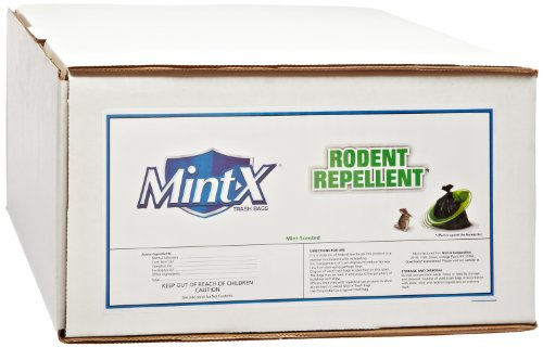 [Mint-X Rodent Repellent Trash Bags, Commercial Sizes (Box of 100)] (Mint Repellent)