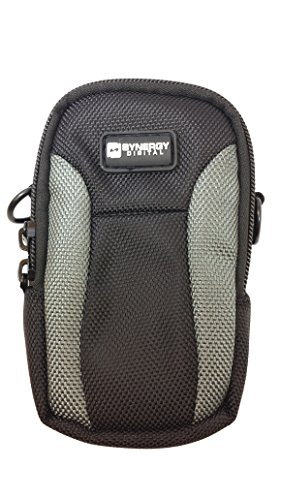 Canon PowerShot SX730 HS Digital Camera Case SDC-23 Point & Shoot Digital Camera Case, Black/Grey