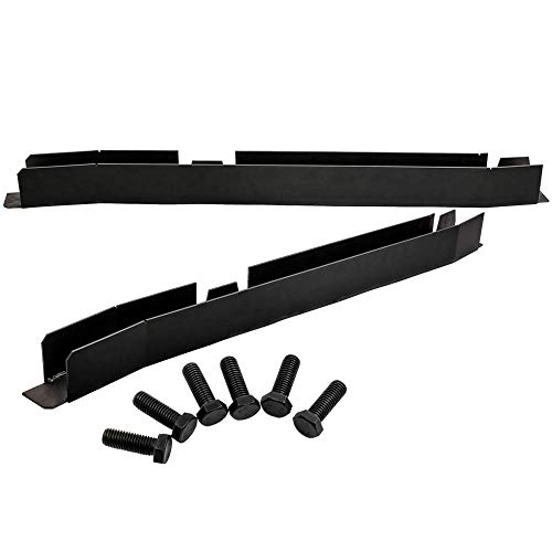 (Center Skid Plates Frame Repair Kits Driver and Passenger Side for Jeep Wrangler TJ 1997-2003 )