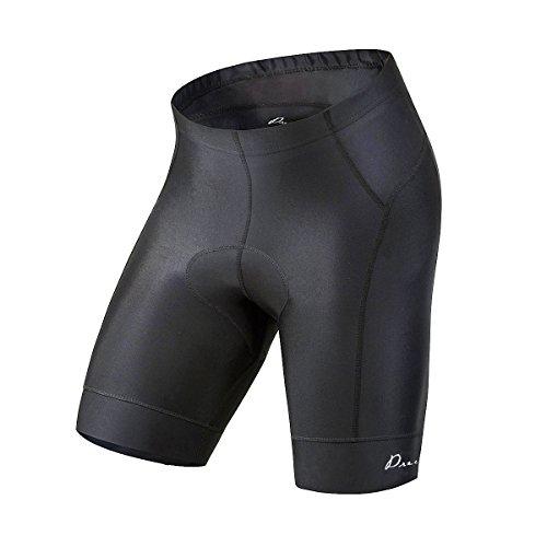 Przewalski Men's Bike Shorts, 3D Padded Cycling Half Pants - Quick-Dry and Moisture-Wicking ( S, Black)