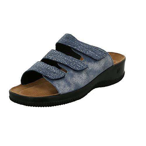Punta Blu Salina Sandali 541 Donna 01 Romika kombi Aperta jeans wTpqFWa