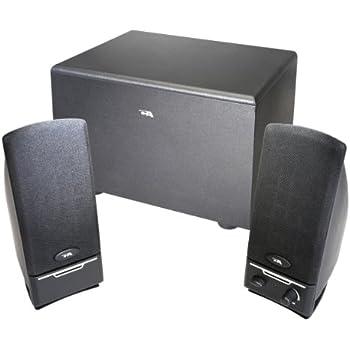 Amazon.com: Cyber Acoustics 2.1 PC computer speakers with