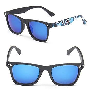 Zbertx Gafas de Sol para niños de Girls Boy para niños Gafas ...