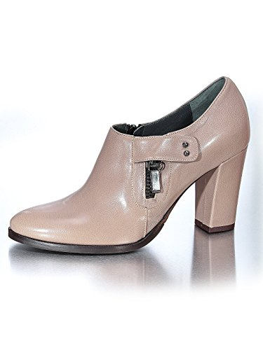 Marion Spath Damen 308-137 Glattleder Hochfront-Pumps Taupe