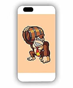 Iphone 6s Funda Case, Cartoon Donkey Kong High Impact Customized Funny Scratch Resistant Durable Vintage Style Back Film Protector Funda Case For Iphone 6 / 6s (4.7 inch)