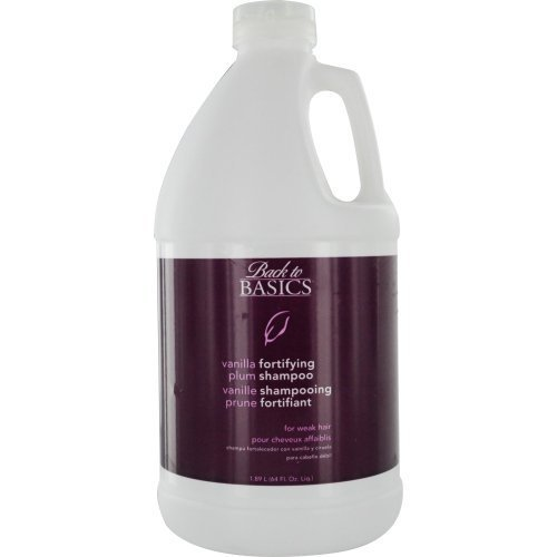 BACK TO BASICS by Graham Webb: VANILLA PLUM FORTIFYING SHAMPOO FOR WEAK HAIR 64 OZ by Back to ()