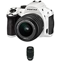 Pentax K-30 Digital Camera with 18-55mm AL and 55-300mm Lens Kit - White [Unknown Binding]