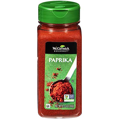 - McCormick Gourmet Collection Paprika 8.5 Ounce