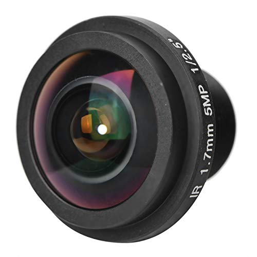 5mp 1.7mm 170 ° Groothoeklens Beveiliging Fisheye View Fisheye-cameralens voor CCTV-camera