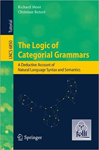 The Logic of Categorial Grammars: A deductive account of natural language syntax and semantics (Lecture Notes in Computer Science)