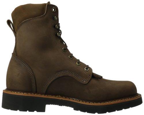 Justin Opprinnelige Arbeid Støvler Menns Jmax Arbeid Boot Robust Sjokolade / Gaucho