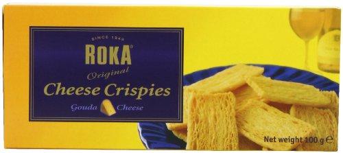Roka Gouda Cheese Crispies 100 g (Pack of 8) - Roka Gouda Cheese