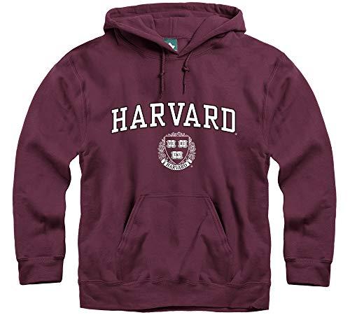 Ivysport Harvard University Hooded Sweatshirt, Crest, for sale  Delivered anywhere in USA