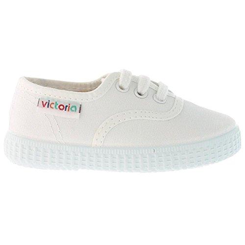 Victoria Inglesa Lona 6613, Zapatillas de Tela Unisex Blanco