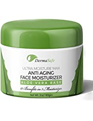 Premium Face Moisturizer - Anti Aging Face Cream, Best Hydrator For Wrinkles, Age Spots, Skin Tone, Firming, and Dark Circles Under Eyes