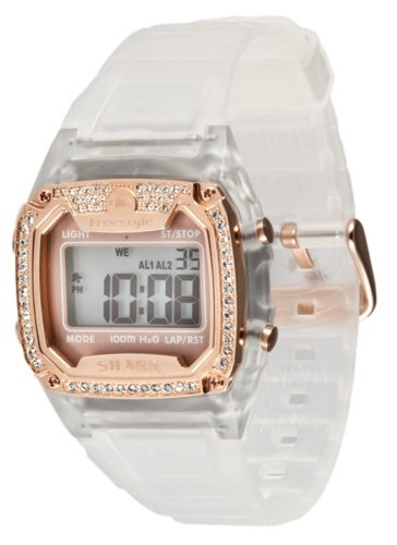 - Freestyle Women's 101081 Shark Classic Rectangle Shark Digital Watch