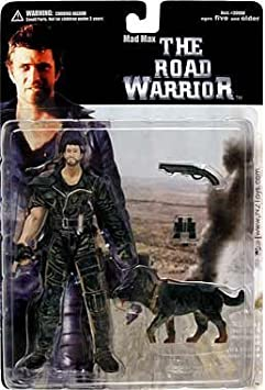 Road Warrior Mad MAX with Dog Action Figure by N2 Toys: Amazon.es ...