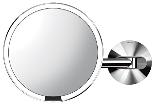 Compare Price Wired Wall Mount Make Up Mirror On