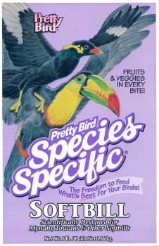 Pretty Bird International Small Softbill Bird Food, 20 lb. by Pretty Bird