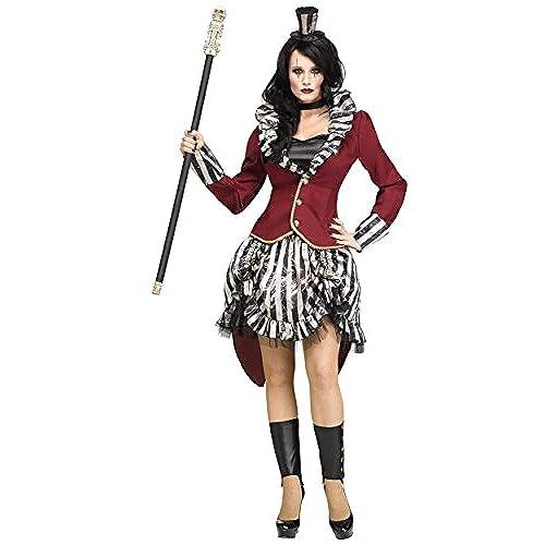 Fun World Womenu0027s Freak Show Ringmistress Multi S/M Size 2-8  sc 1 st  Amazon.com & Circus Costume: Amazon.com