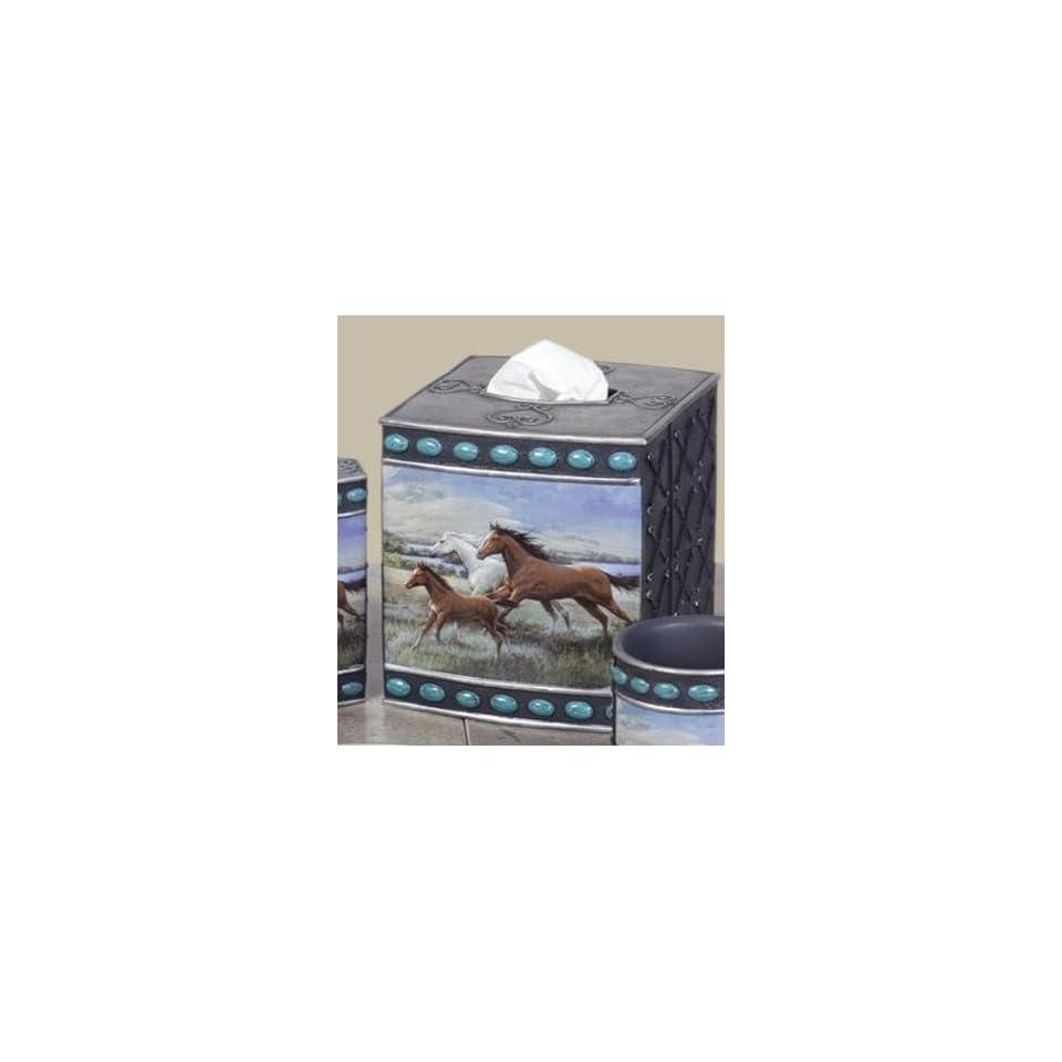 Horse Tissue Box Running Free