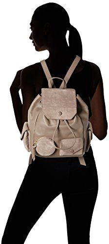 Liebeskind Berlin - Backpackm Capoes, Borsa a mano/zaino Donna Marrone (Cold Grey 9408)