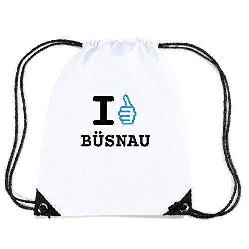 JOllify BÜSNAU Turnbeutel Tasche GYM344 Design: I like - Ich mag 5ksX5