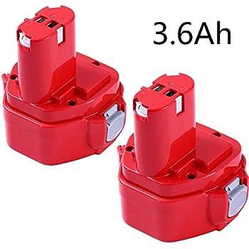 FR 12V NI-CD Batterie pour Makita 1220,1222,PA12 4013D 5093D 6213D 6216D 6217D