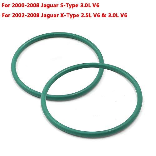 Motoparty Intake Air Control Valve O-Ring Gasket For Jaguar S-Type X-Type IMT Intake Manifold Valve Gasket