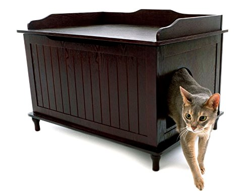 Beau Amazon.com: Designer Catbox Litter Box Enclosure In Espresso: Pet Supplies