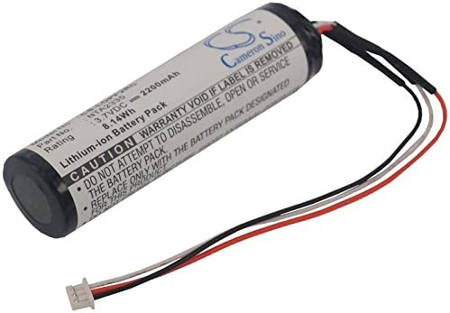 Cameron sino 2200mAh Li-ion Replacement NTA2479 Battery For Logitech Pure-Fi Anywhere Speaker 1st MM50 With Tools Kit